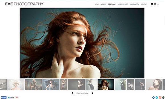 Flash Websites for Photographers