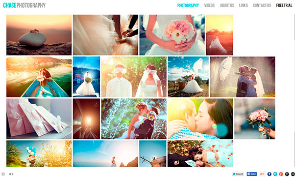 HTML5 Websites for Photographers